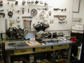 Motorcycle Machine Shop