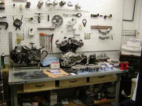 Motorcycle Machine Shop